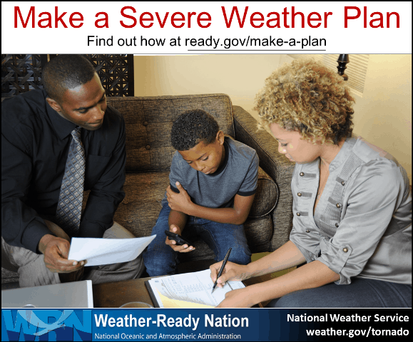 Make a Severe Weather Plan